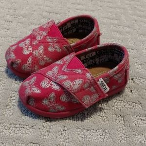 Baby girl TOMS shoes